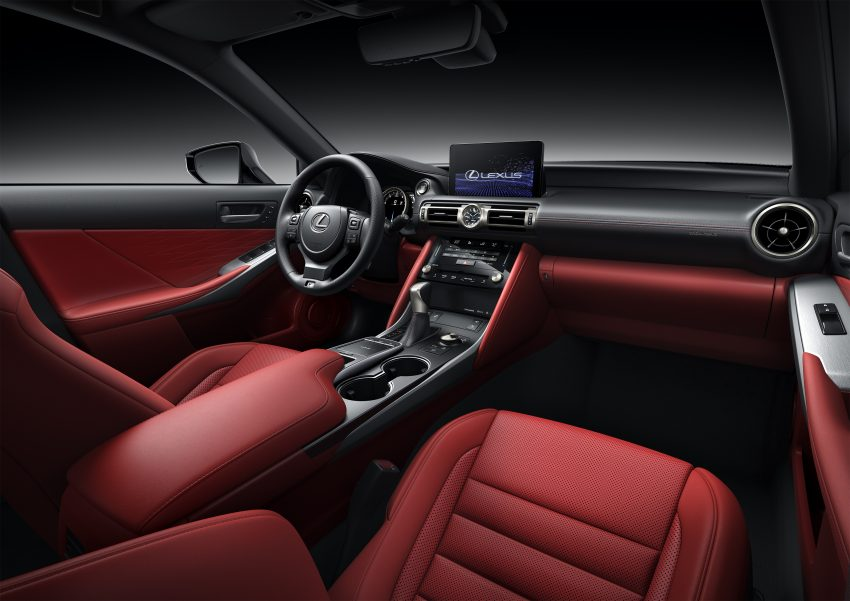 2021 Lexus IS 正式亮相!提供三种动力选项,外表更张扬 Image #124550