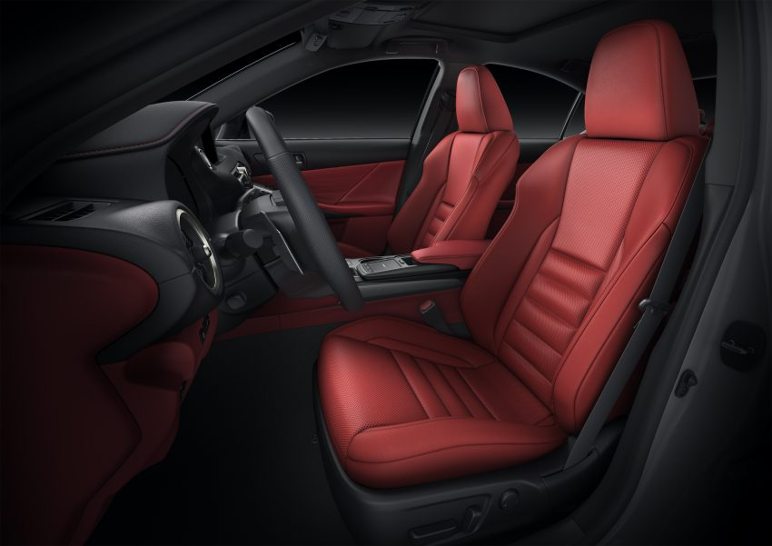 2021 Lexus IS 正式亮相!提供三种动力选项,外表更张扬 Image #124553