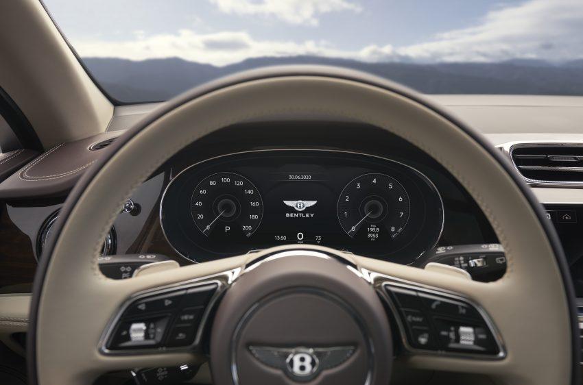 Bentley Bentayga 小改款面世,外型更精致、内装更奢华 Image #126923