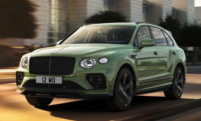 Bentley Bentayga 小改款面世,外型更精致、内装更奢华 Image #126929