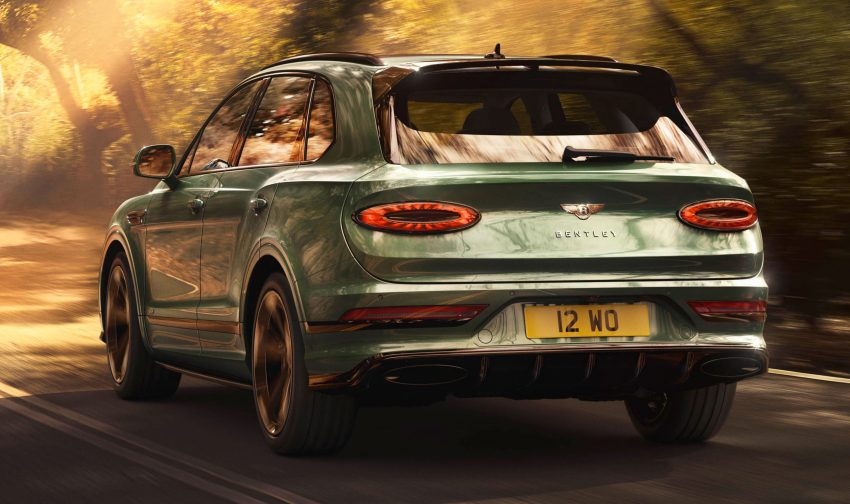 Bentley Bentayga 小改款面世,外型更精致、内装更奢华 Image #126930