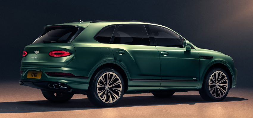 Bentley Bentayga 小改款面世,外型更精致、内装更奢华 Image #126934