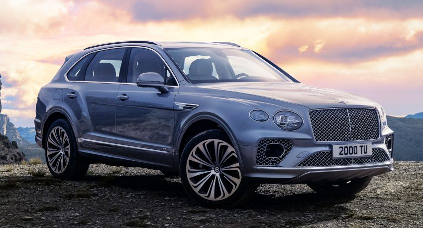 Bentley Bentayga 小改款面世,外型更精致、内装更奢华 Image #126937