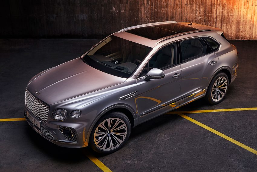 Bentley Bentayga 小改款面世,外型更精致、内装更奢华 Image #126940