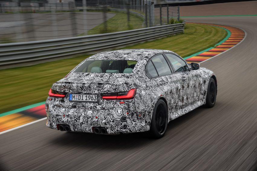 原厂释出下一代 BMW M3 与 M4 部份细节, 新引擎+手排 Image #127062