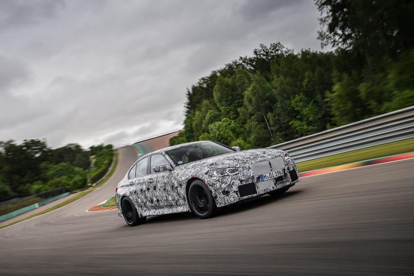 原厂释出下一代 BMW M3 与 M4 部份细节, 新引擎+手排 Image #127055