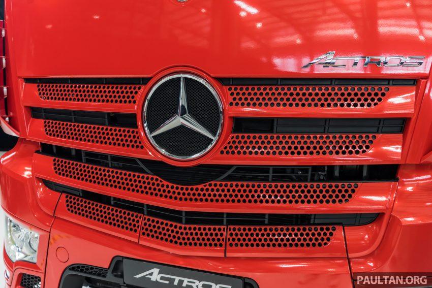 2020 Mercedes-Benz Actros 大型货卡本地上市, 10种不同车型版本供选择, 搭载AEB, ACC, LKAS等高科技安全配备 Image #129927
