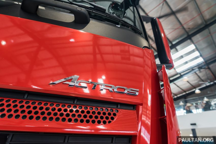 2020 Mercedes-Benz Actros 大型货卡本地上市, 10种不同车型版本供选择, 搭载AEB, ACC, LKAS等高科技安全配备 Image #129930