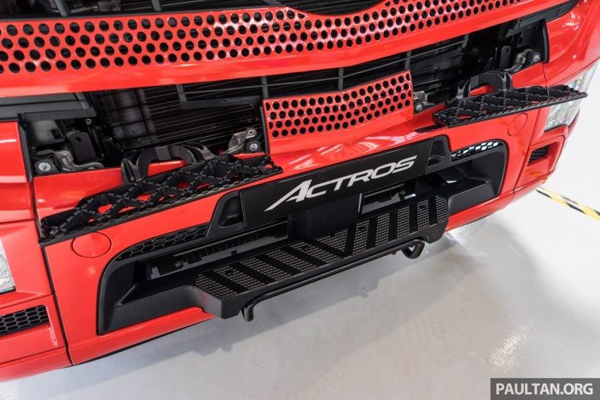 2020 Mercedes-Benz Actros 大型货卡本地上市, 10种不同车型版本供选择, 搭载AEB, ACC, LKAS等高科技安全配备 Image #129934