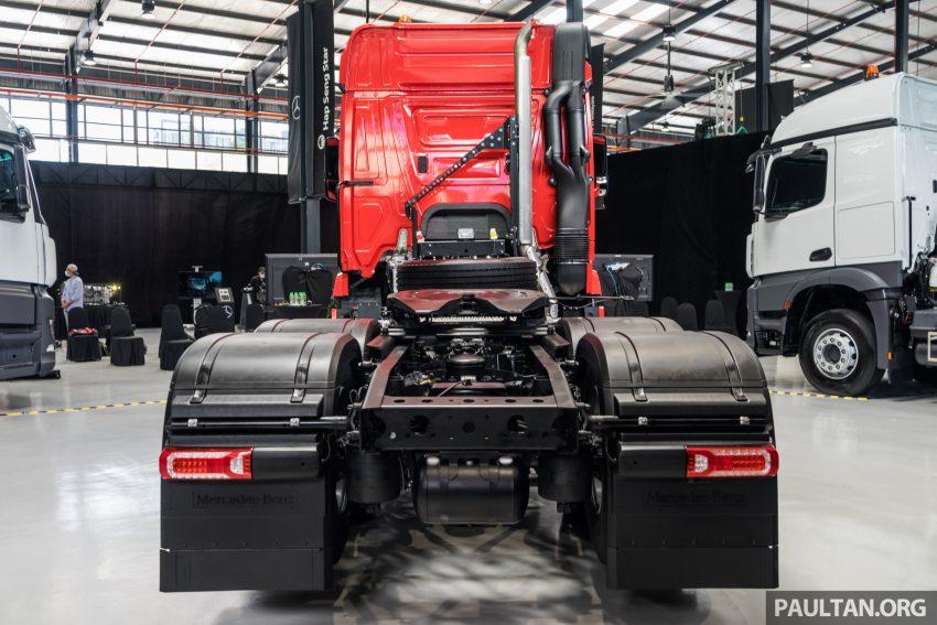 2020 Mercedes-Benz Actros 大型货卡本地上市, 10种不同车型版本供选择, 搭载AEB, ACC, LKAS等高科技安全配备 Image #129923