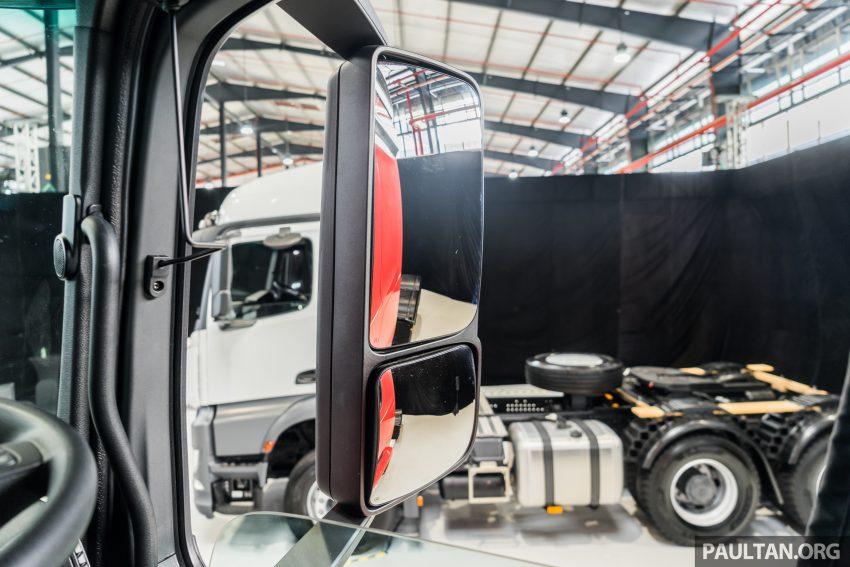2020 Mercedes-Benz Actros 大型货卡本地上市, 10种不同车型版本供选择, 搭载AEB, ACC, LKAS等高科技安全配备 Image #129980