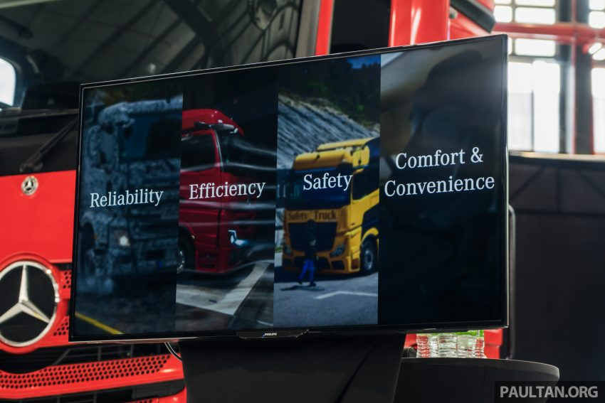 2020 Mercedes-Benz Actros 大型货卡本地上市, 10种不同车型版本供选择, 搭载AEB, ACC, LKAS等高科技安全配备 Image #129984