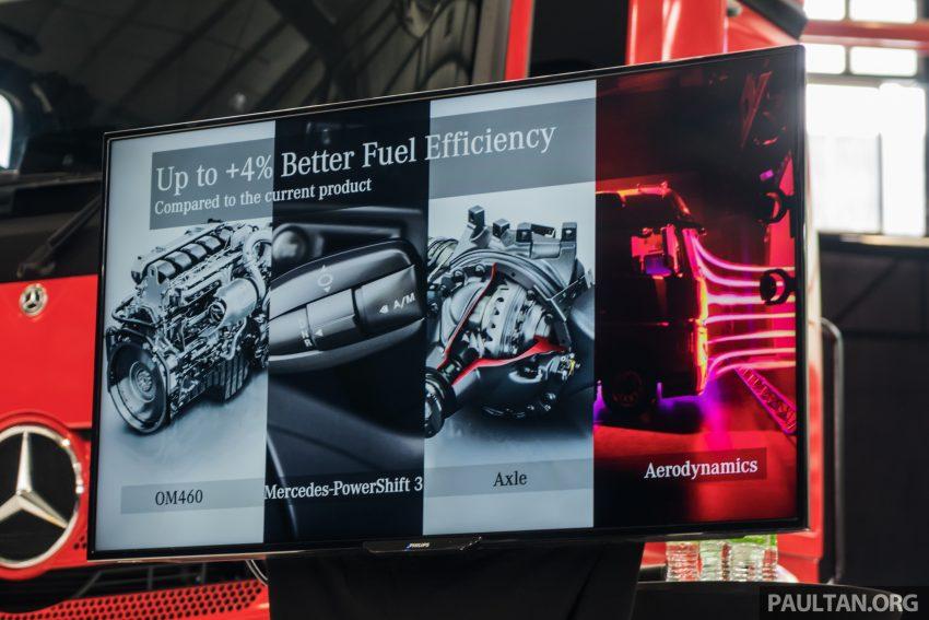 2020 Mercedes-Benz Actros 大型货卡本地上市, 10种不同车型版本供选择, 搭载AEB, ACC, LKAS等高科技安全配备 Image #129992