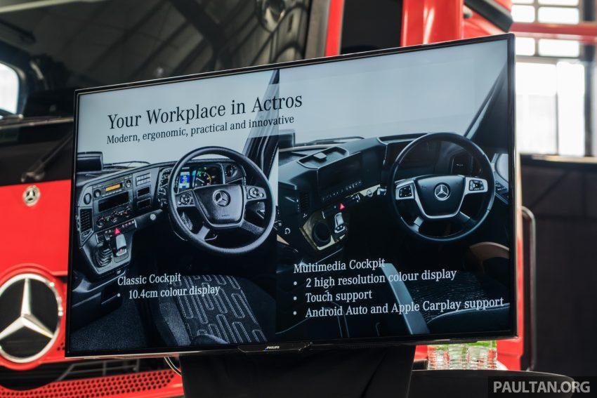 2020 Mercedes-Benz Actros 大型货卡本地上市, 10种不同车型版本供选择, 搭载AEB, ACC, LKAS等高科技安全配备 Image #129999