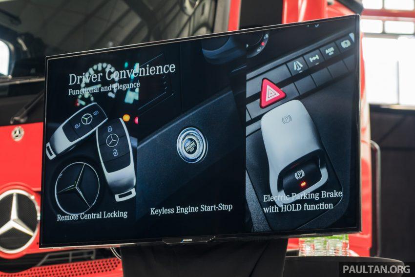 2020 Mercedes-Benz Actros 大型货卡本地上市, 10种不同车型版本供选择, 搭载AEB, ACC, LKAS等高科技安全配备 Image #130000