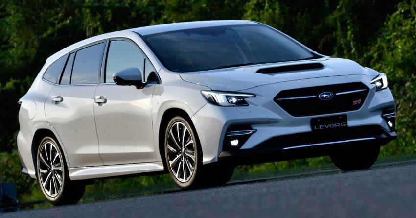 第二代 Subaru Levorg 全球首发, 新引擎, 安全性全面进化 Image #132288
