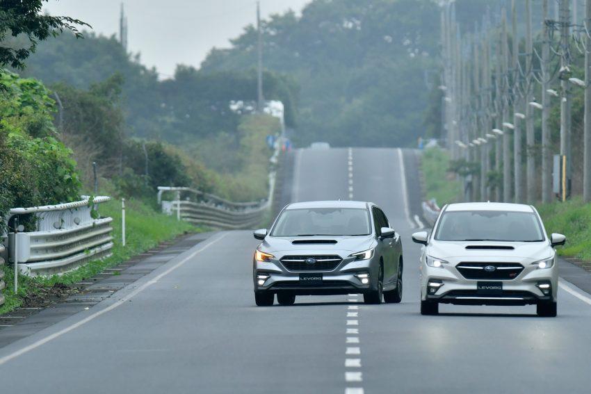 第二代 Subaru Levorg 全球首发, 新引擎, 安全性全面进化 Image #132291