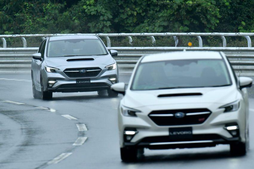 第二代 Subaru Levorg 全球首发, 新引擎, 安全性全面进化 Image #132293