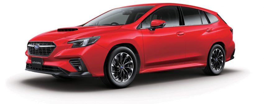 第二代 Subaru Levorg 全球首发, 新引擎, 安全性全面进化 Image #132191