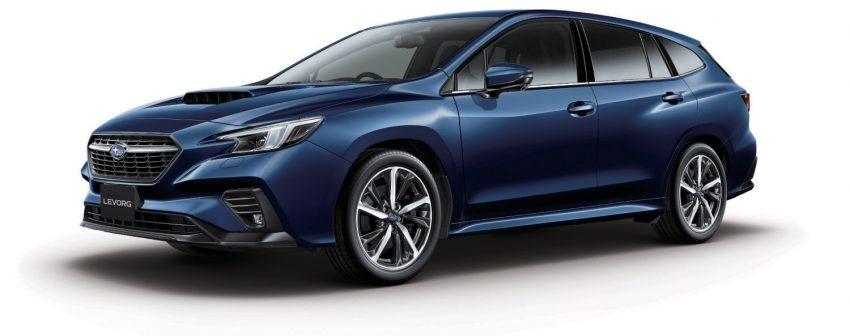 第二代 Subaru Levorg 全球首发, 新引擎, 安全性全面进化 Image #132200