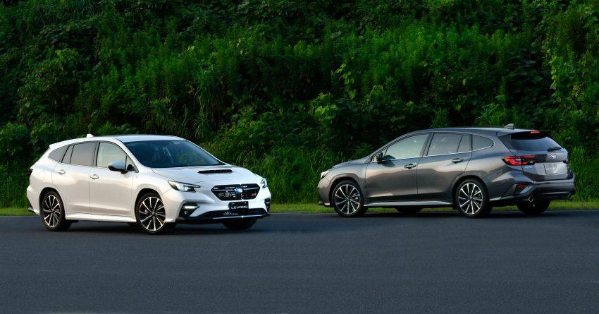 第二代 Subaru Levorg 全球首发, 新引擎, 安全性全面进化 Image #132233