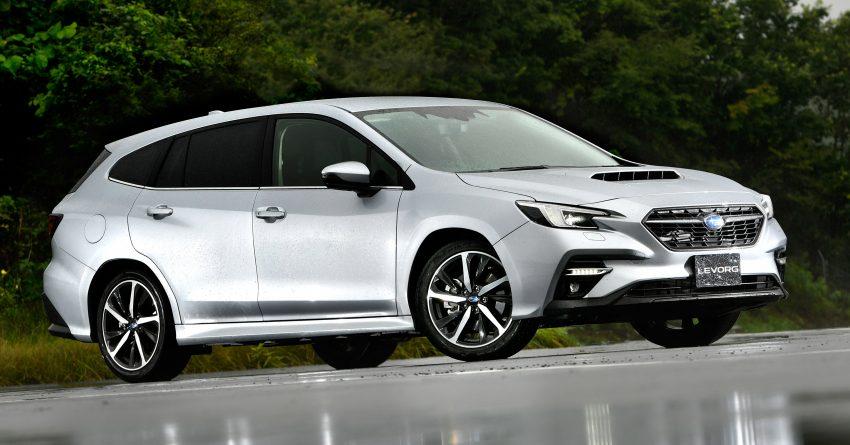 第二代 Subaru Levorg 全球首发, 新引擎, 安全性全面进化 Image #132234