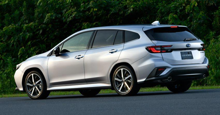 第二代 Subaru Levorg 全球首发, 新引擎, 安全性全面进化 Image #132253