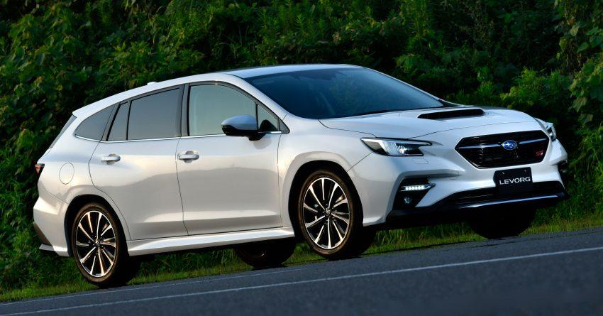 第二代 Subaru Levorg 全球首发, 新引擎, 安全性全面进化 Image #132265