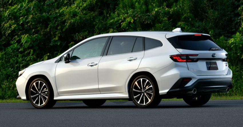 第二代 Subaru Levorg 全球首发, 新引擎, 安全性全面进化 Image #132267