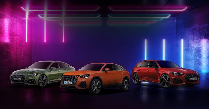 商业资讯: 透过全新 Audi 线上虚拟陈列室观赏并购买全新梦寐以求的 Audi , 包括高性能 RS 版本与 Q3 Sportback ! Image #132047