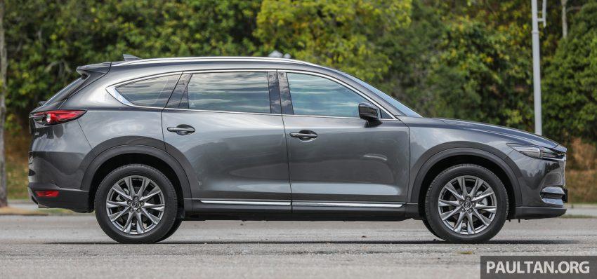 试驾:2020 Mazda CX-8,七人座 SUV 也一样能文能武 Image #134624