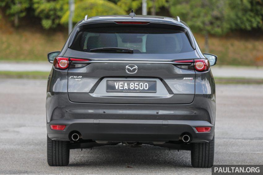 试驾:2020 Mazda CX-8,七人座 SUV 也一样能文能武 Image #134627