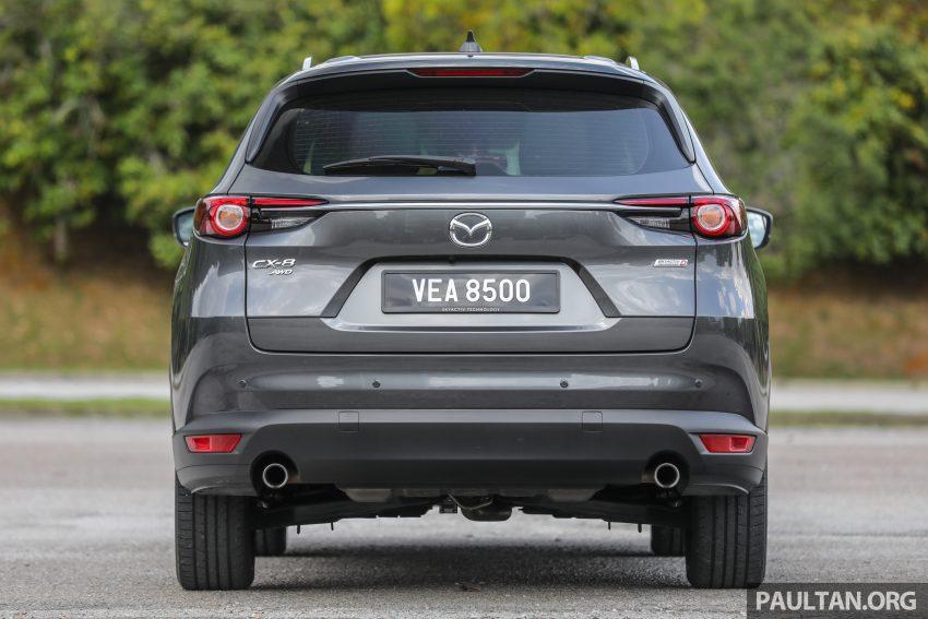 试驾:2020 Mazda CX-8,七人座 SUV 也一样能文能武 Image #134628