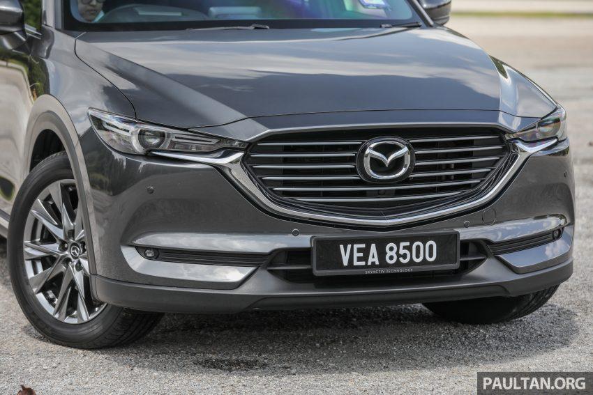 试驾:2020 Mazda CX-8,七人座 SUV 也一样能文能武 Image #134629