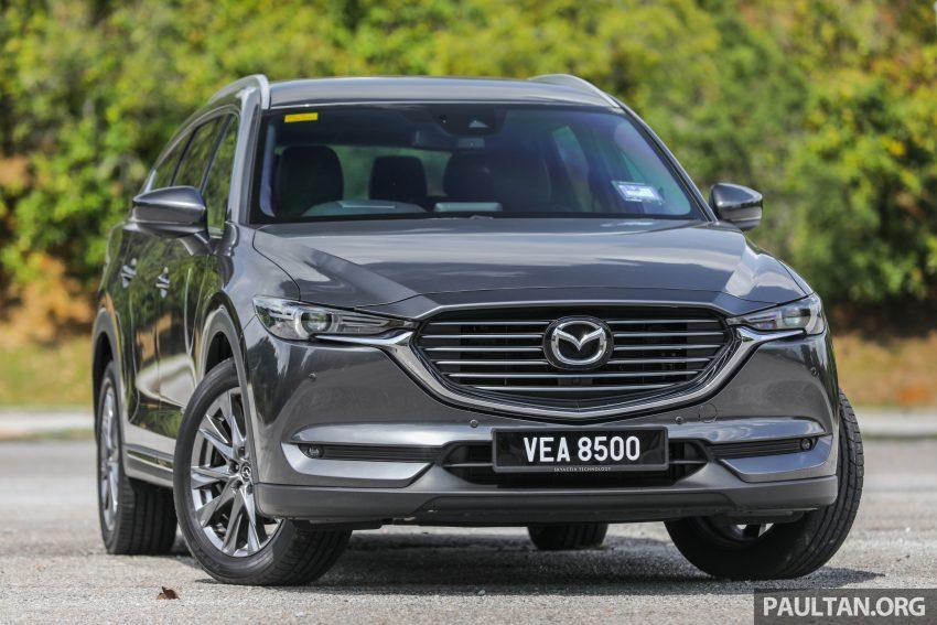 试驾:2020 Mazda CX-8,七人座 SUV 也一样能文能武 Image #134616