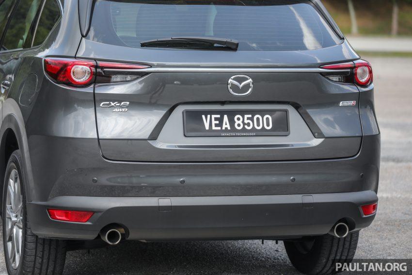 试驾:2020 Mazda CX-8,七人座 SUV 也一样能文能武 Image #134642