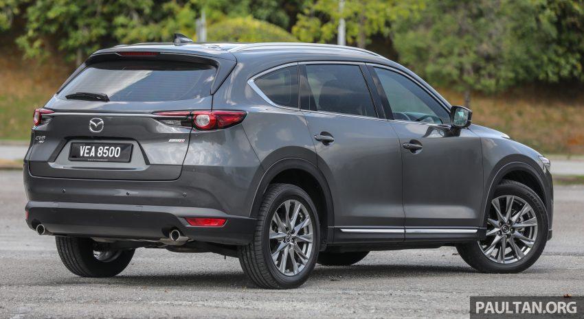 试驾:2020 Mazda CX-8,七人座 SUV 也一样能文能武 Image #134619