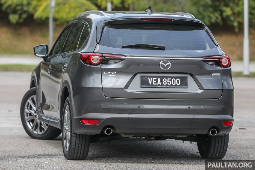 试驾:2020 Mazda CX-8,七人座 SUV 也一样能文能武 Image #134621
