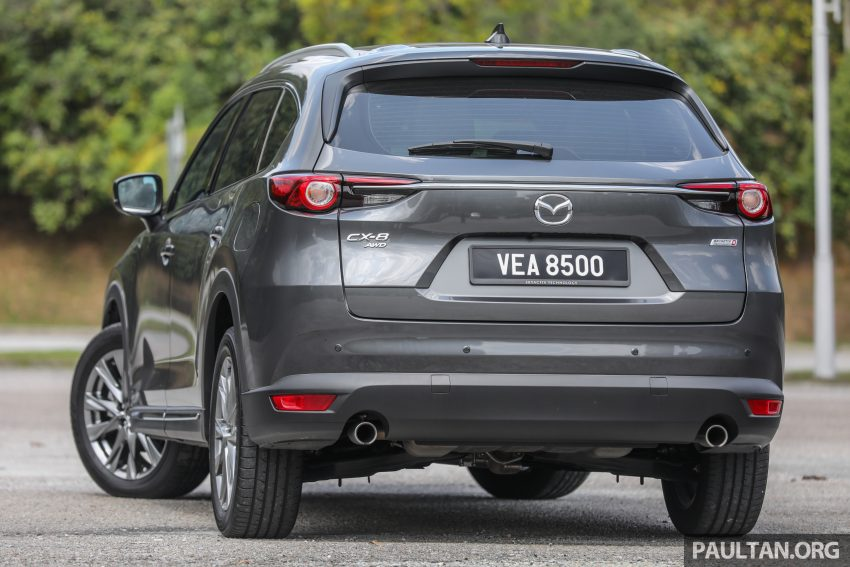 试驾:2020 Mazda CX-8,七人座 SUV 也一样能文能武 Image #134622