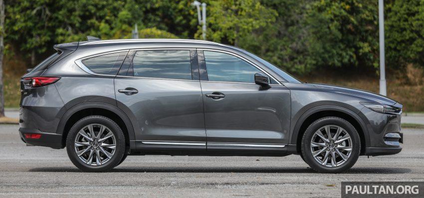 试驾:2020 Mazda CX-8,七人座 SUV 也一样能文能武 Image #134623
