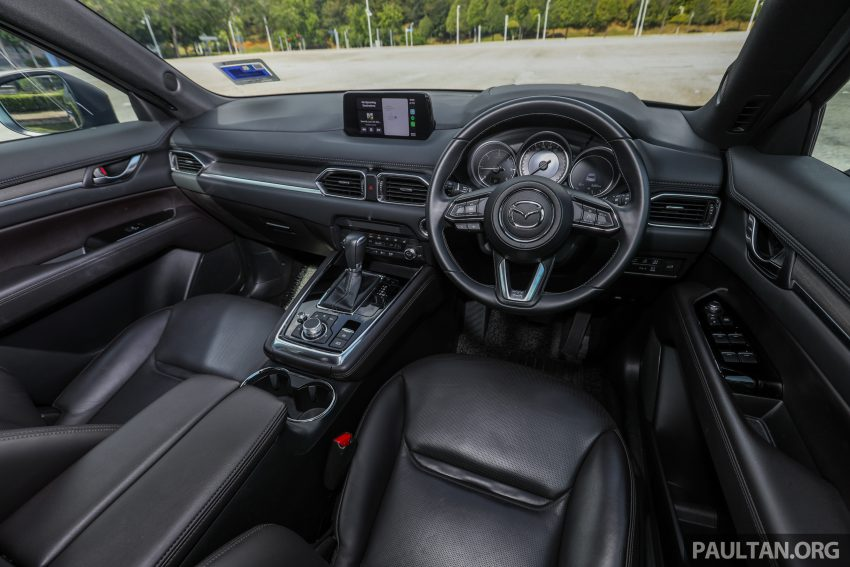 试驾:2020 Mazda CX-8,七人座 SUV 也一样能文能武 Image #134680