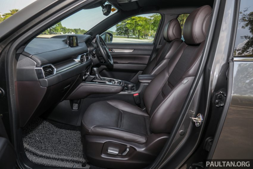 试驾:2020 Mazda CX-8,七人座 SUV 也一样能文能武 Image #134685