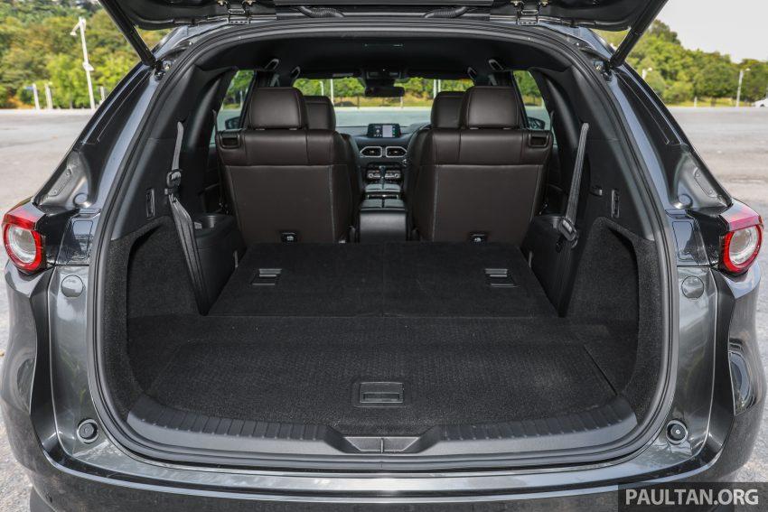 试驾:2020 Mazda CX-8,七人座 SUV 也一样能文能武 Image #134706
