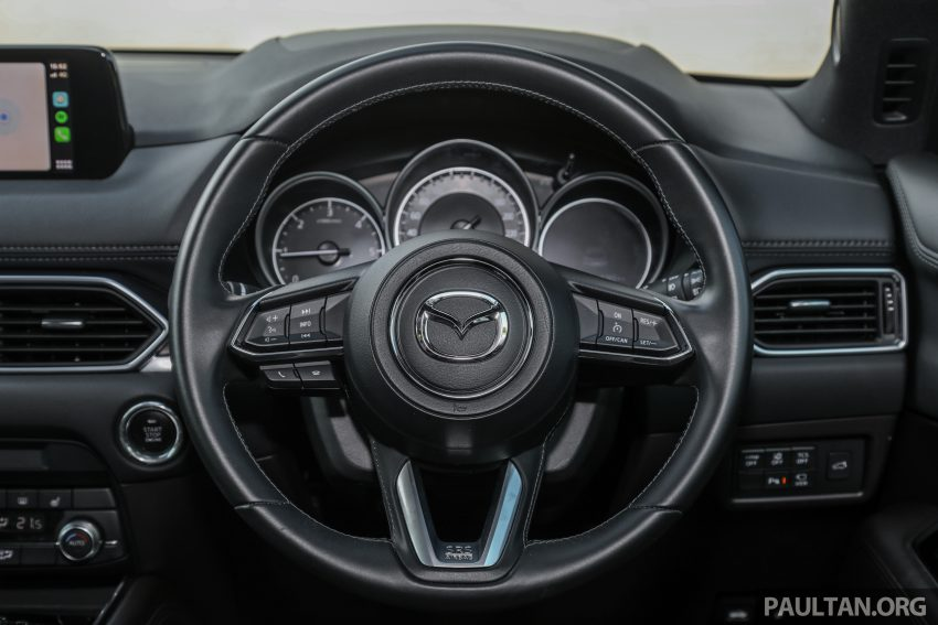 试驾:2020 Mazda CX-8,七人座 SUV 也一样能文能武 Image #134659