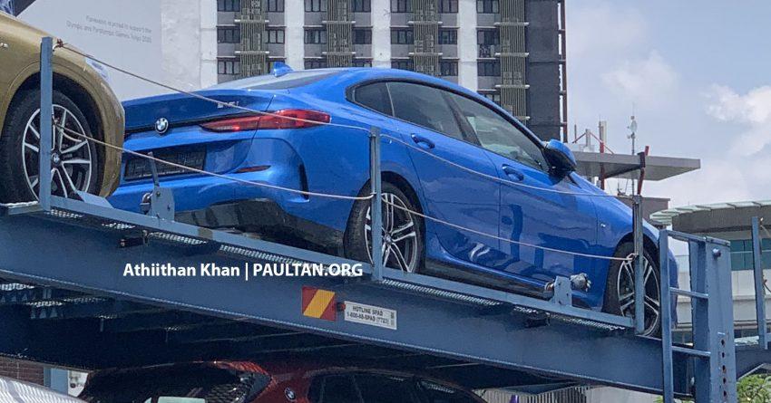 """谍照:全新 F44 BMW 2 Series Gran Coupe 于本地载运车上被""""捕获""""!218i M Sport 版本近期内将在本地上市? Image #134509"""
