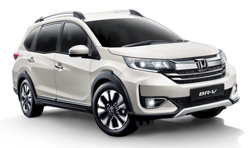 Honda Civic 与 BR-V 推出新铂金珍珠白配色, 需加价选配 Image #135263