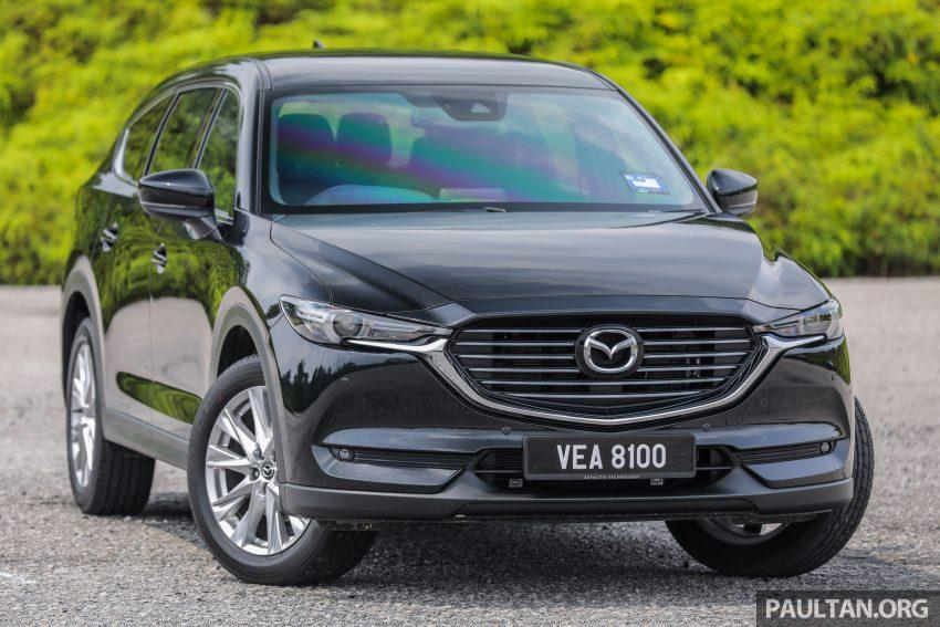 试驾:2020 Mazda CX-8,七人座 SUV 也一样能文能武 Image #134714