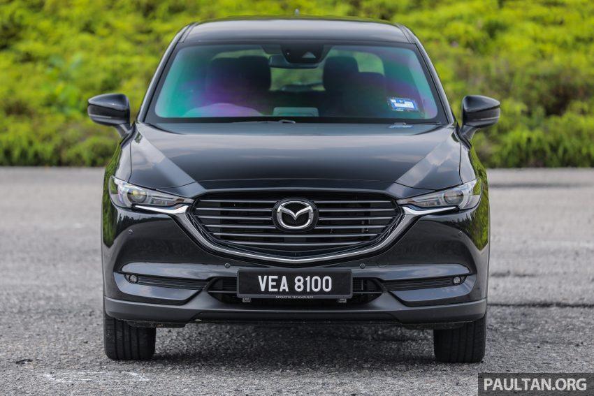 试驾:2020 Mazda CX-8,七人座 SUV 也一样能文能武 Image #134724