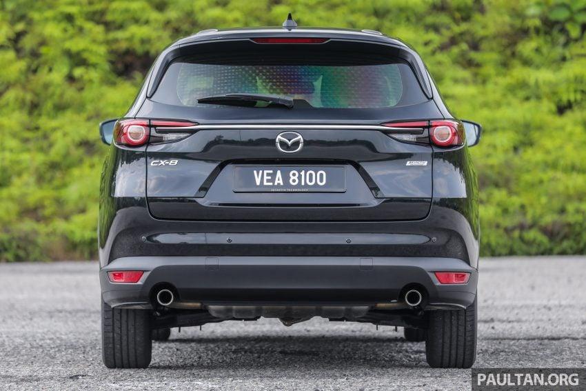 试驾:2020 Mazda CX-8,七人座 SUV 也一样能文能武 Image #134727