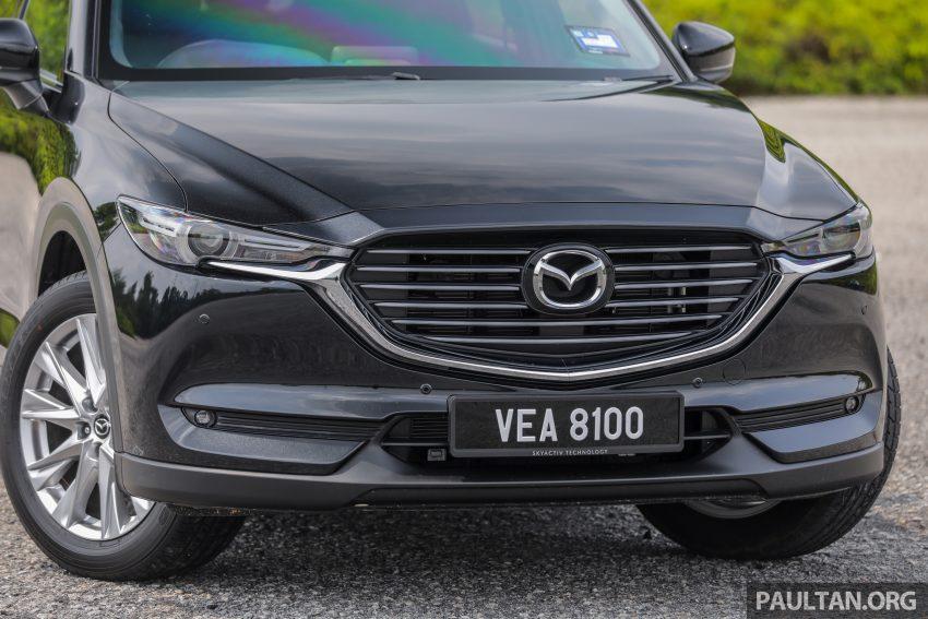 试驾:2020 Mazda CX-8,七人座 SUV 也一样能文能武 Image #134728